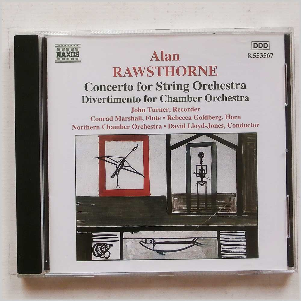 David Lloyd-Jones - Alan Rawsthorne: Concerto for String Orchestra (730099456722)