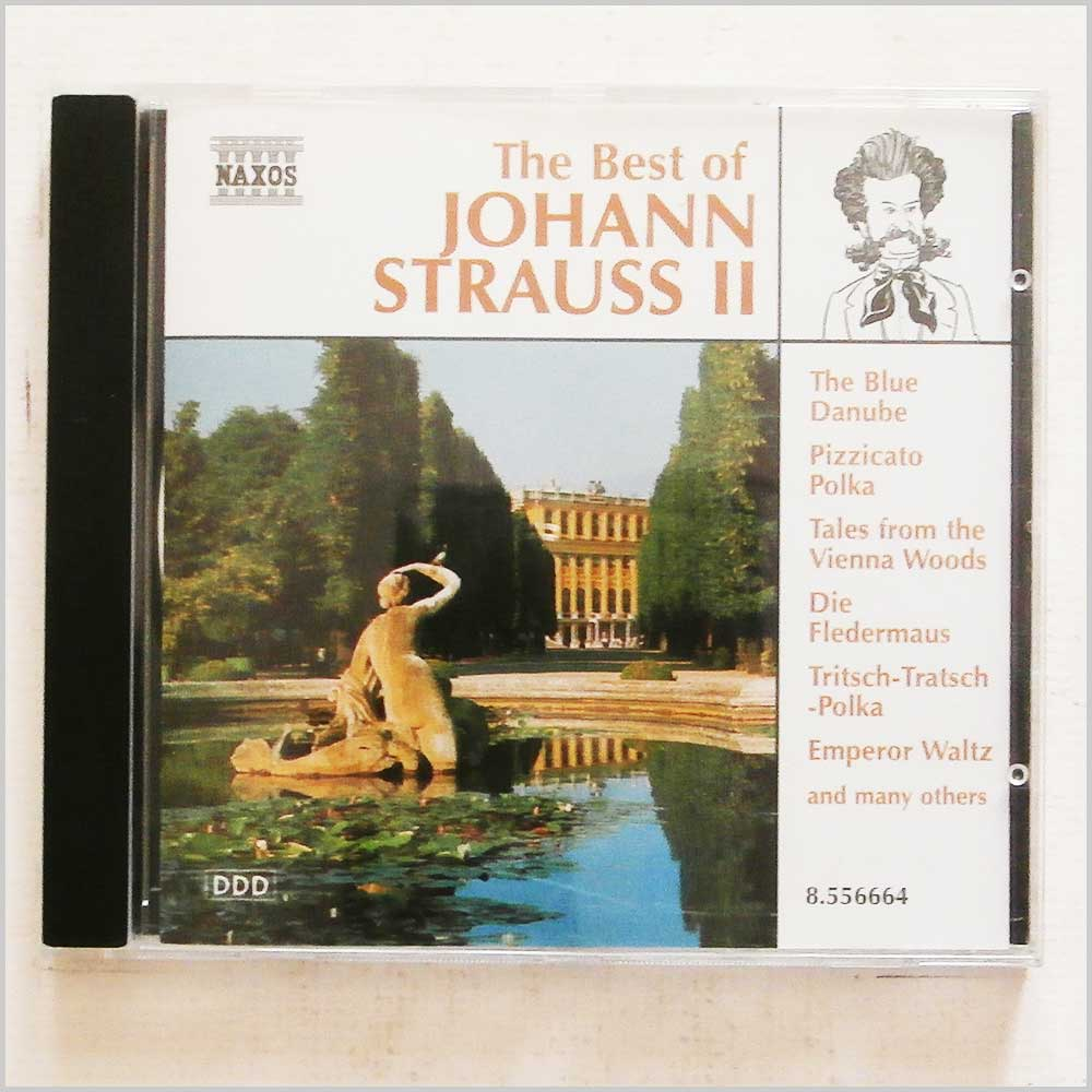 Various - The Best of J. Strauss II (730099666428)