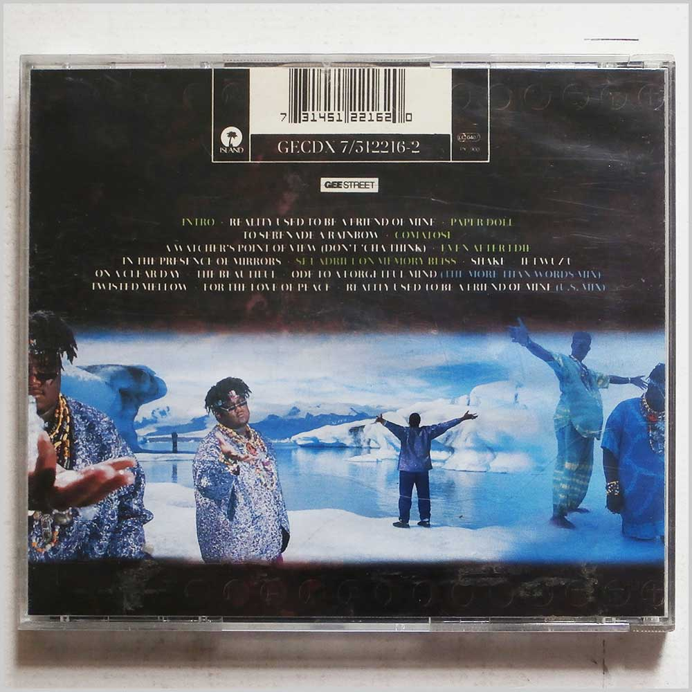 P. M. Dawn - Of The Heart, Of The Soul And Of The Cross: The Utopian Experience (731451221620)