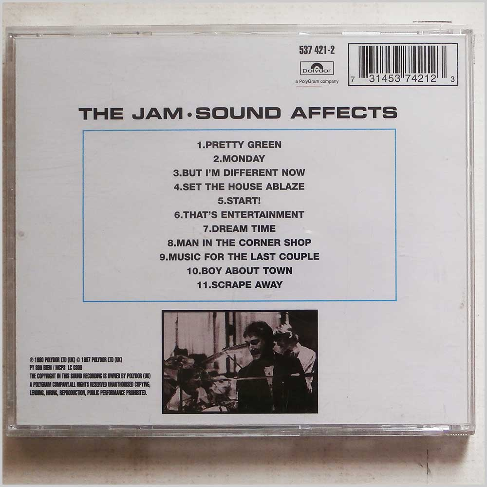The Jam - Sound Affects (731453742123)
