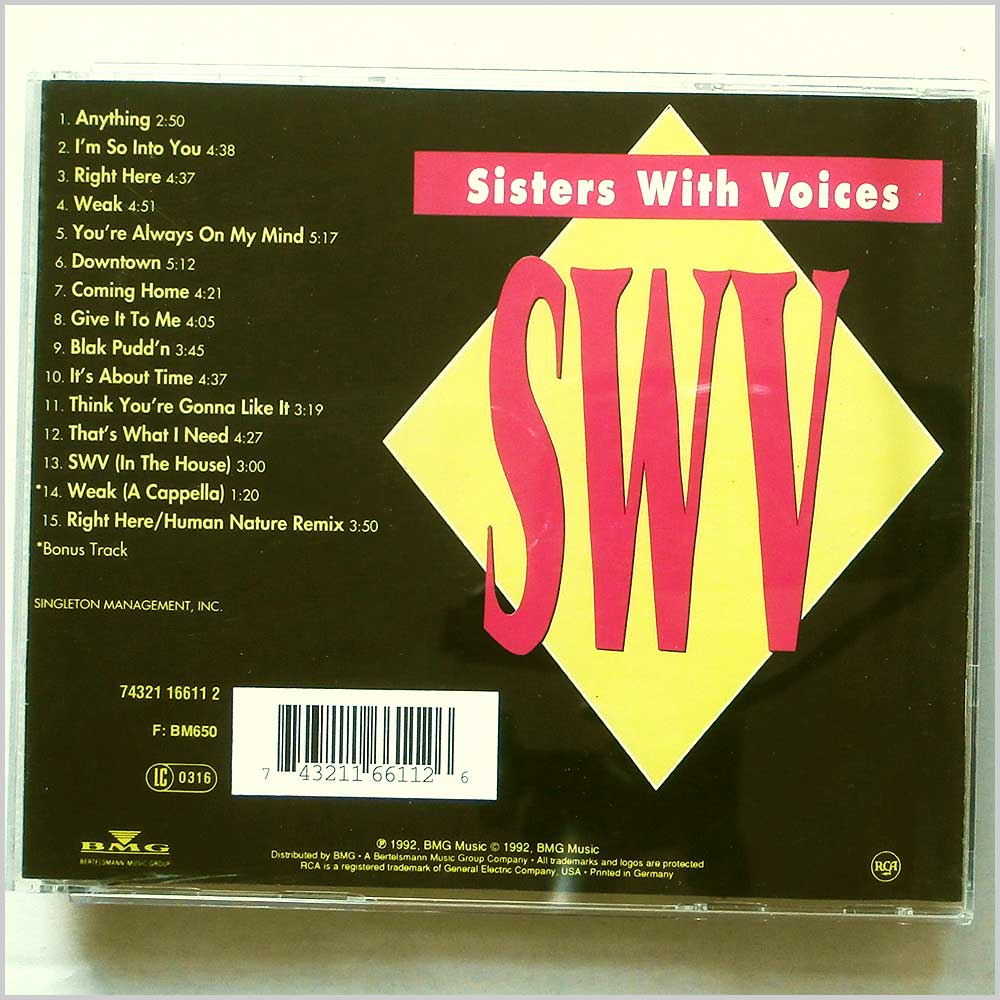 SWV - It's About Time (743211661126)
