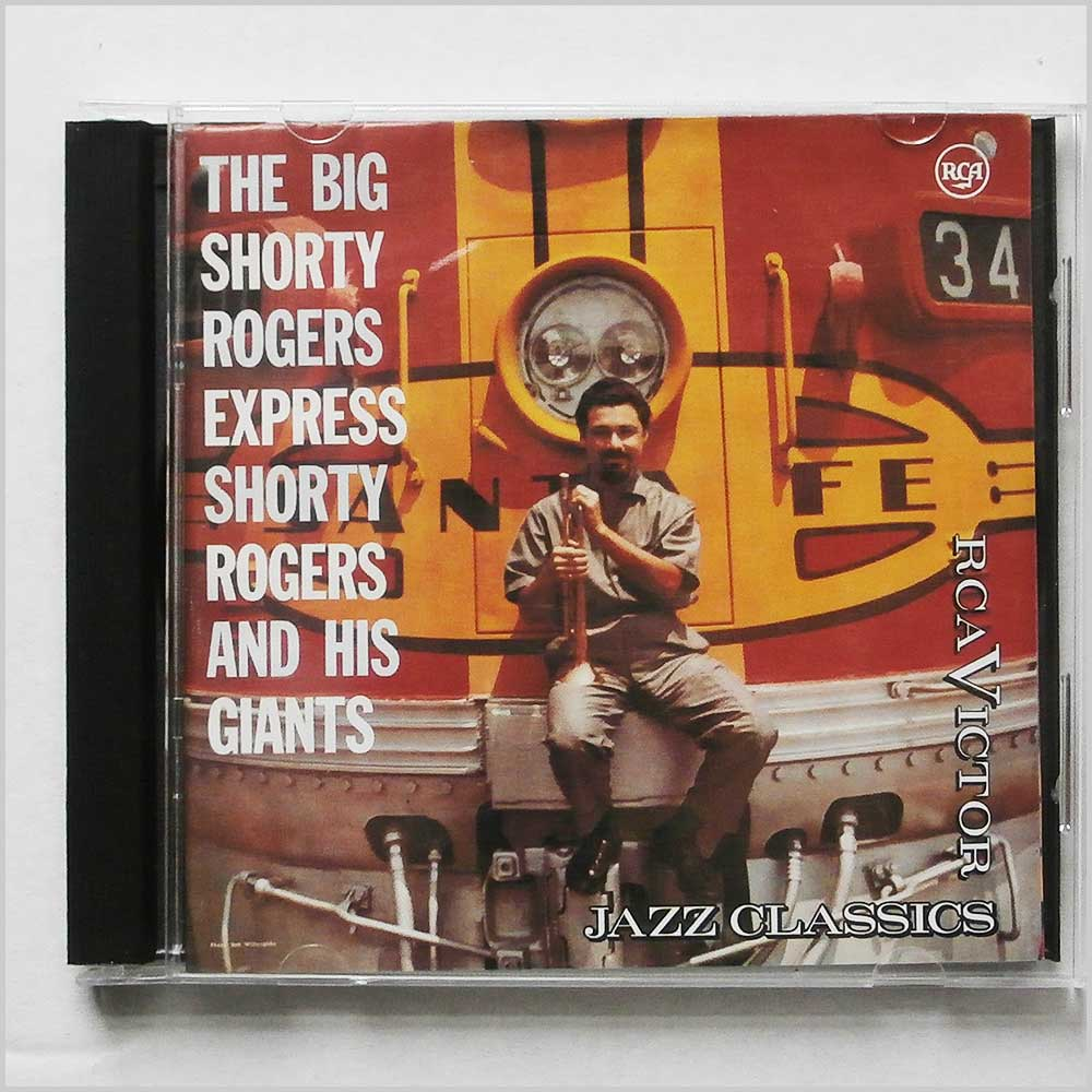 Shorty Rogers And His Giants - The Big Shorty Rogers Express (743211851923)