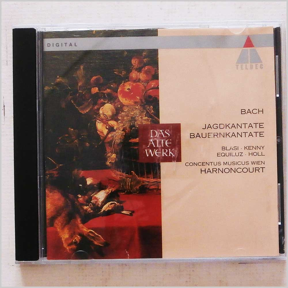 Nikolaus Harnoncourt - Bach: Hunt and Peasants' Cantatas (745099750121)