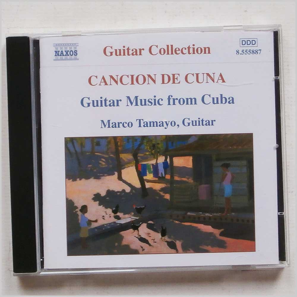 Marco Tamayo - Cancion De Cuna: Guitar Music from Cuba (747313588725)