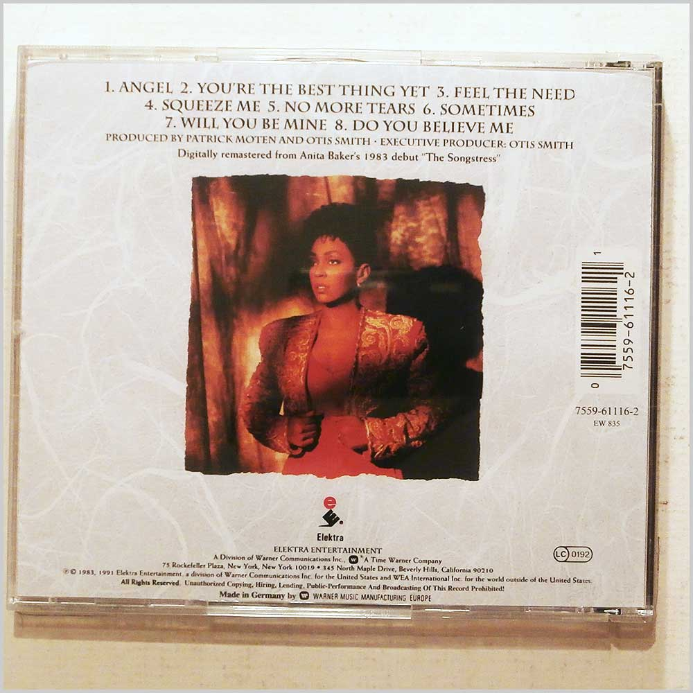 Anita Baker - The Songstress (75596111621)