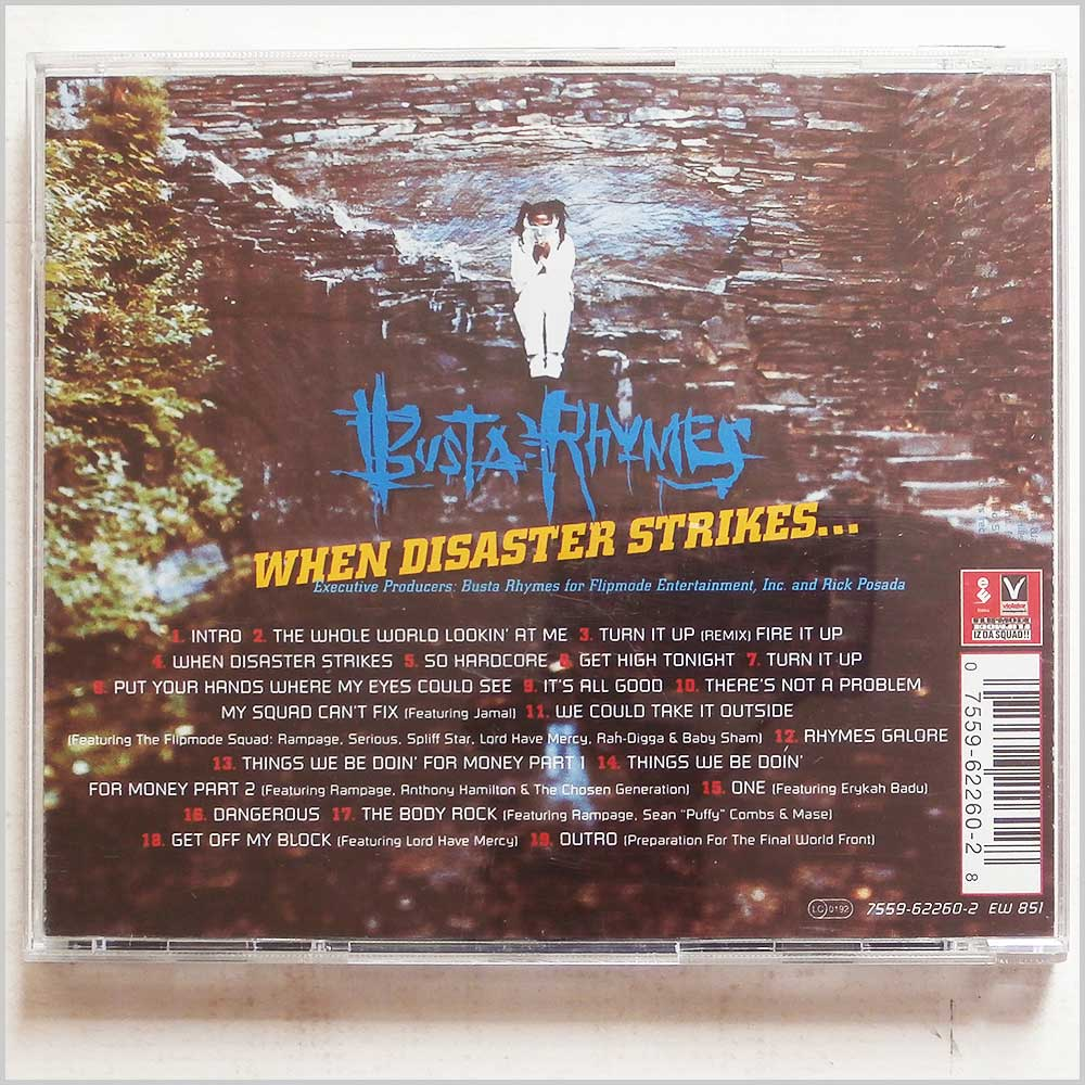 Busta Rhymes - When Disaster Strikes (75596226028)