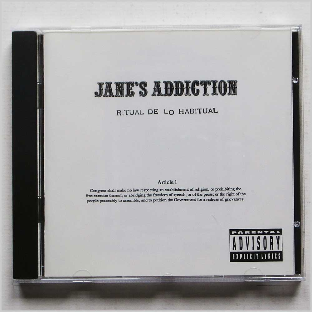 Jane's Addiction  - Ritual De Lo Habitual (75992622325)