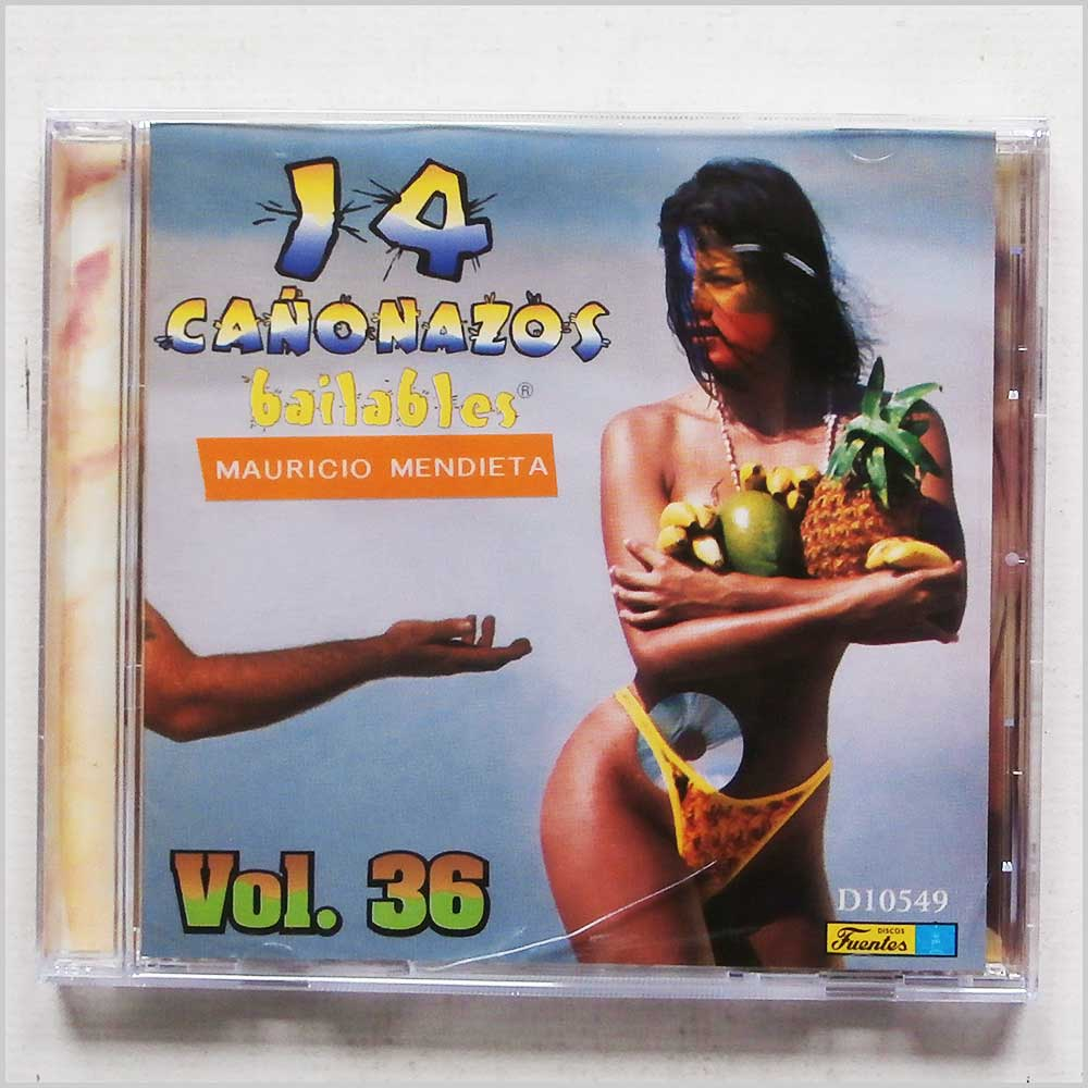 Various - 14 Canonazos Bailables Vol. 36 (7702524605497)