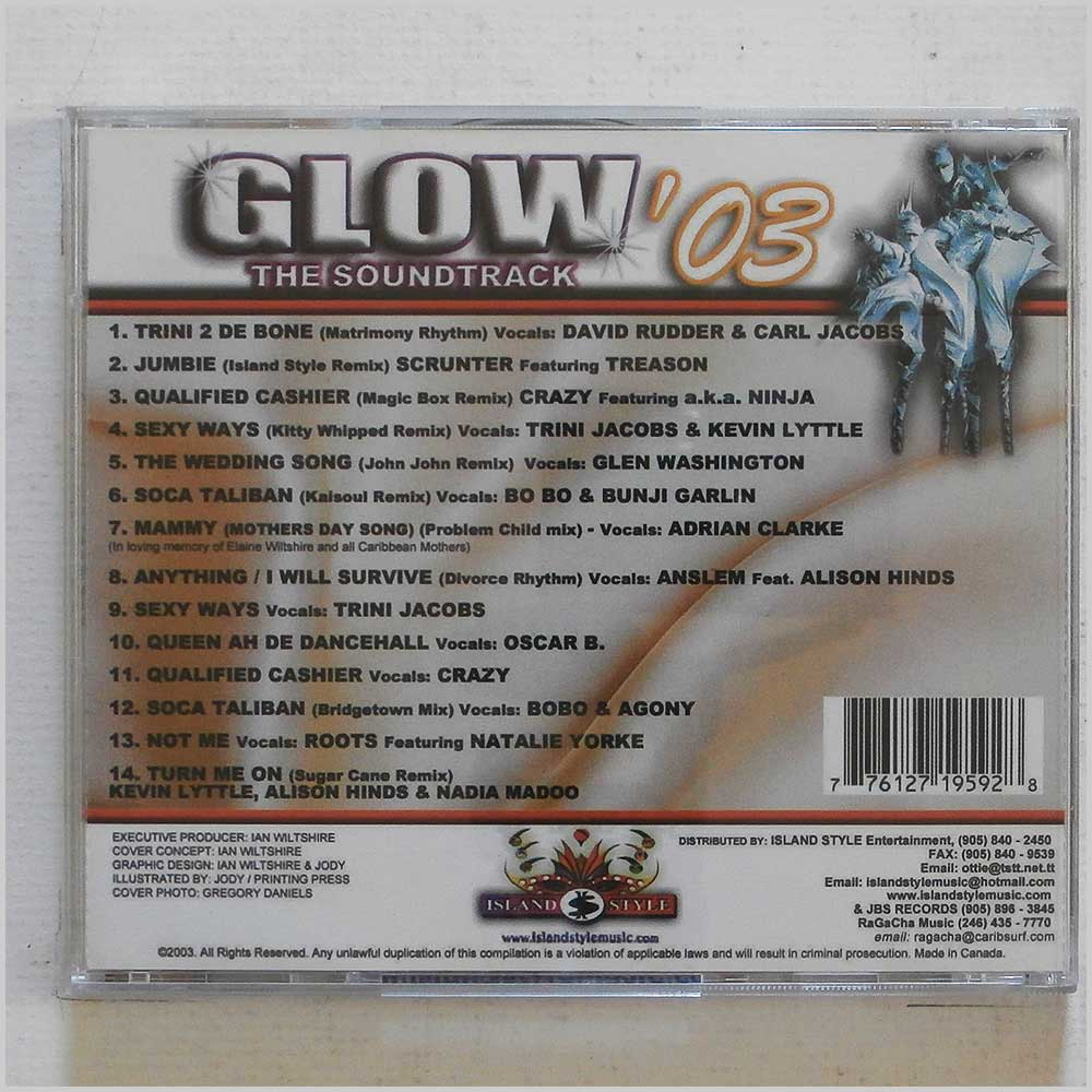 Various - Glow '03: The Soundtrack (776127195928)
