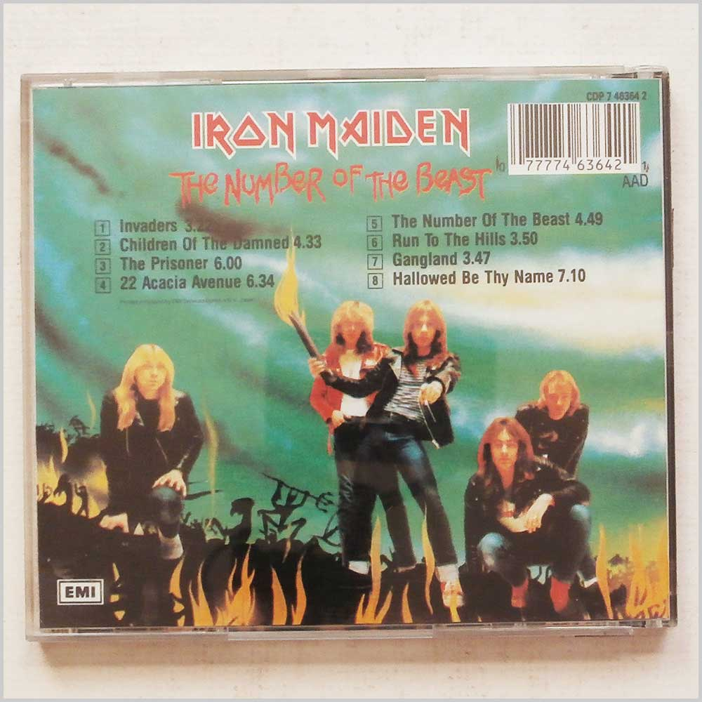 Iron Maiden - The Number of the Beast (77774636421)