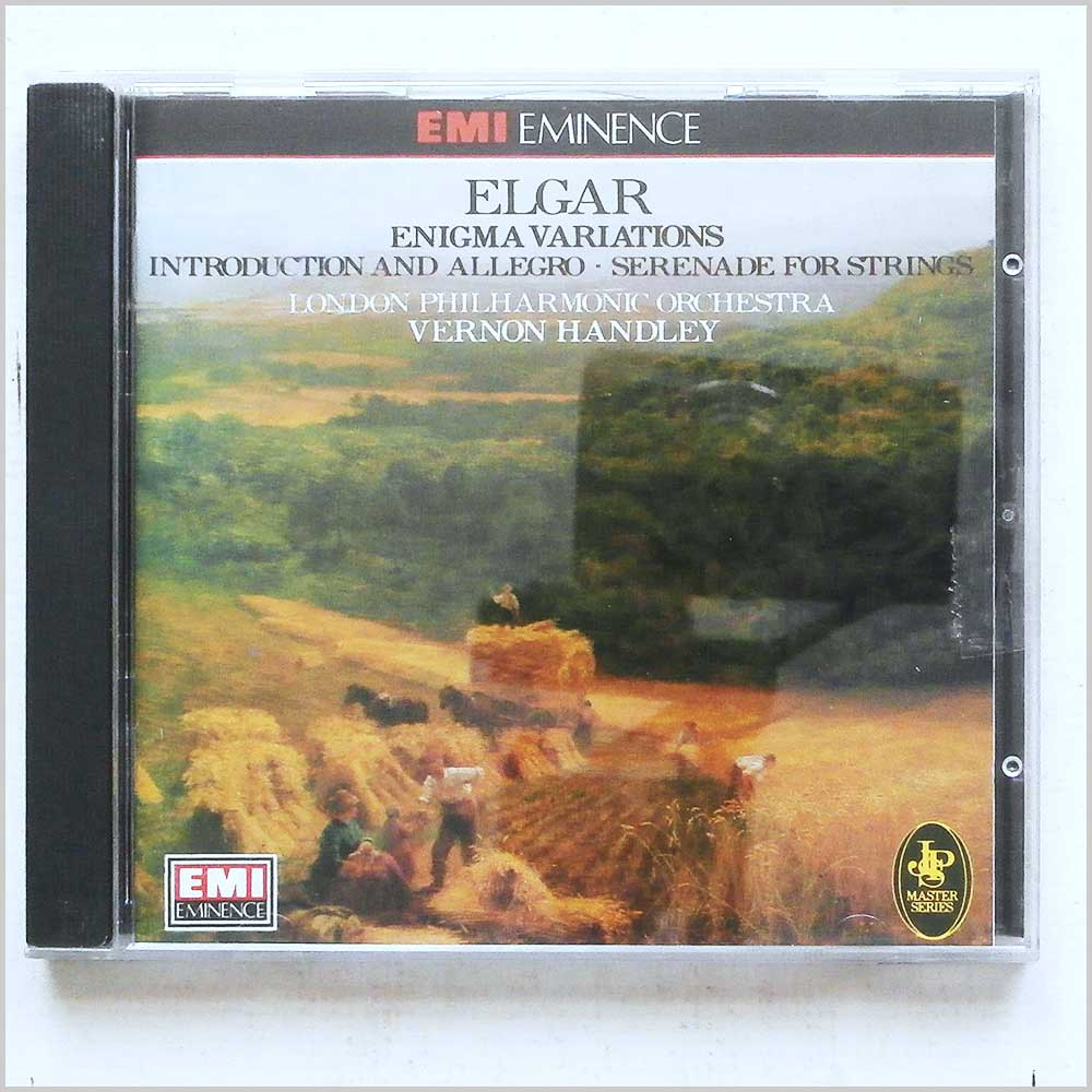 Vernon Handley, London Philharmonic Orchestra - Elgar: Enigma Variations (77776201320)