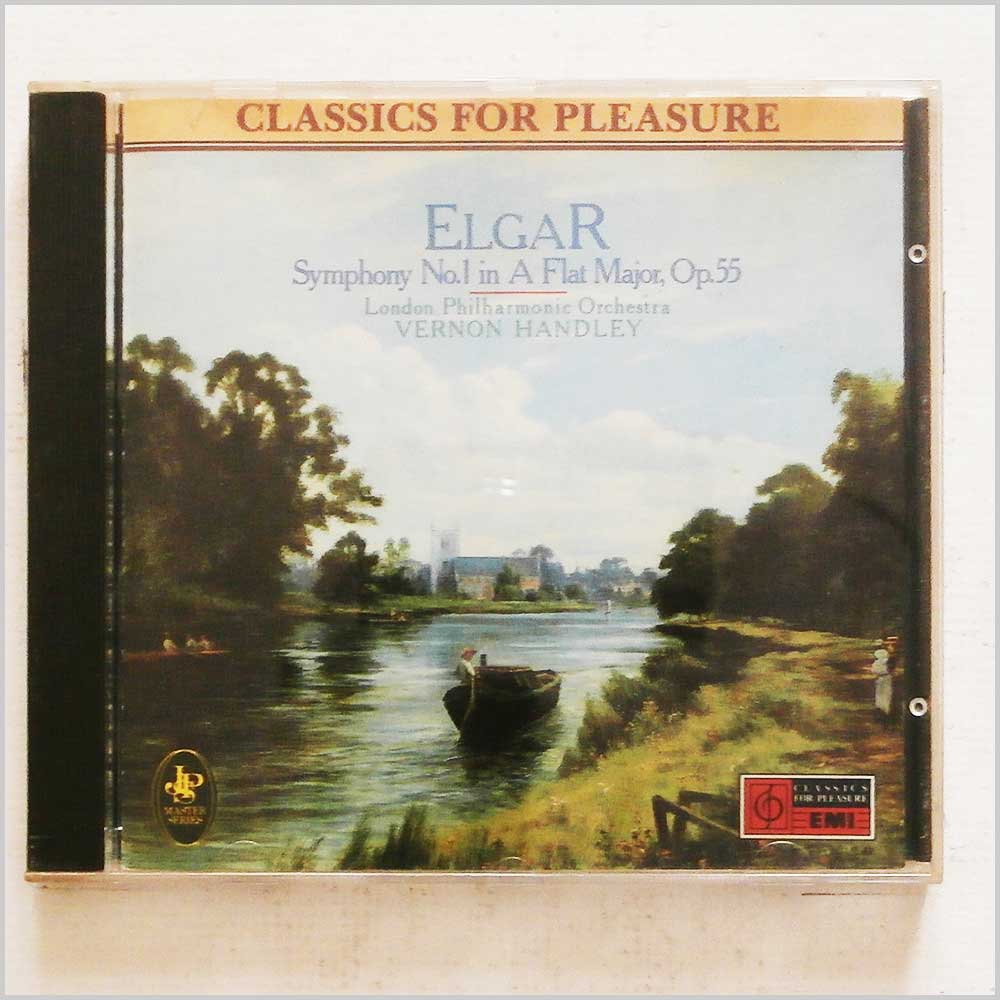 Vernon Handley, London Philharmonic Orchestra - Elgar: Symphony No 1 Op.55 (77776203621)