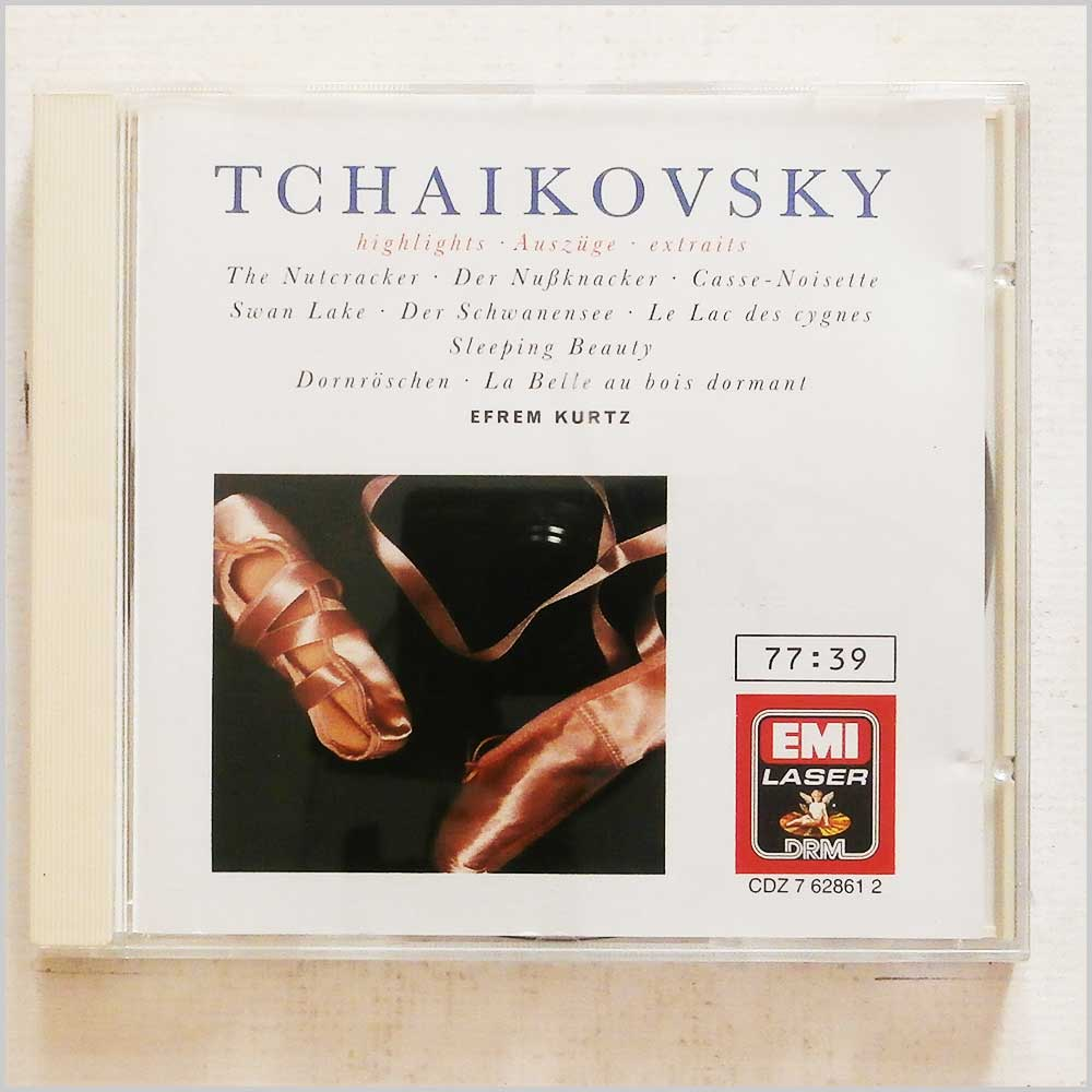 Efrem Kurtz, Philharmonia Orchestra - Tchaikovsky: Highlights: Swan Lake, The Nutcracker, Sleeping Beauty (77776286129)