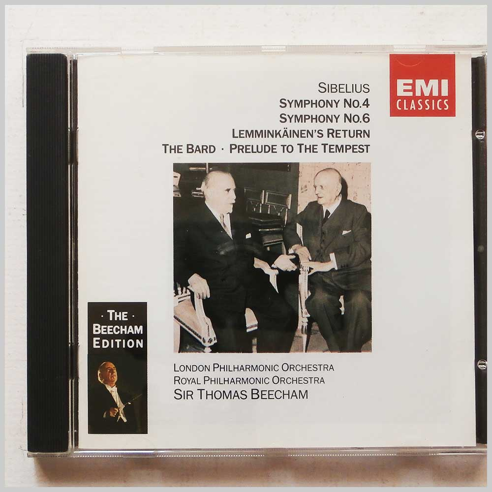 Sir Thomas Beecham, London Philharmonic Orchestra - Sibelius: Symphony Nos. 4, 6, Lemminka¨inen's Return (77776402727)