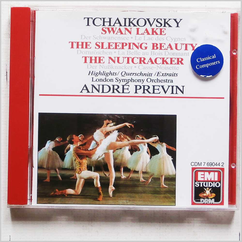 Andre Previn - Tchaikovsky: Swan Lake, Sleeping Beauty, Nutcracker: Highlights (77776904429)