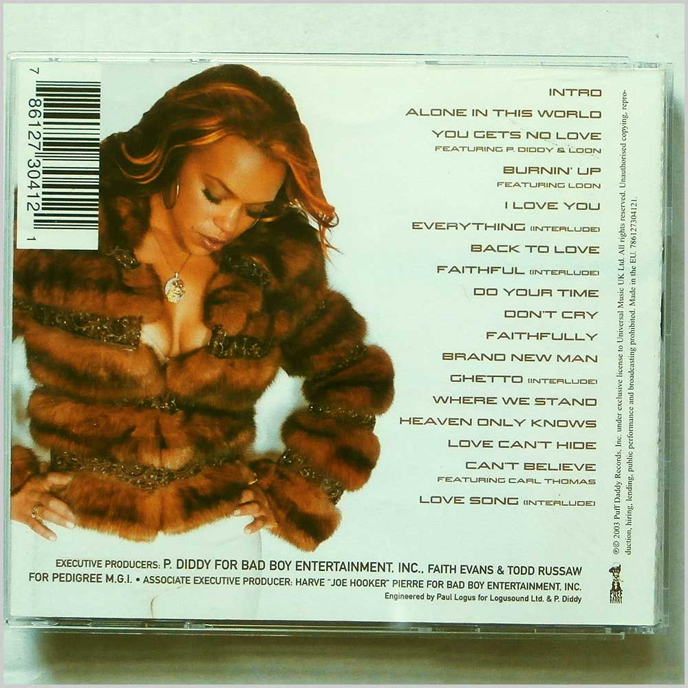 Faith Evans - Faithfully (786127304121)