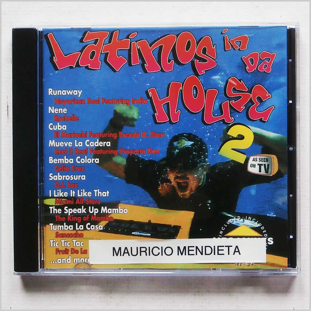 Various - Latinos in Da House 2 (788872205128)