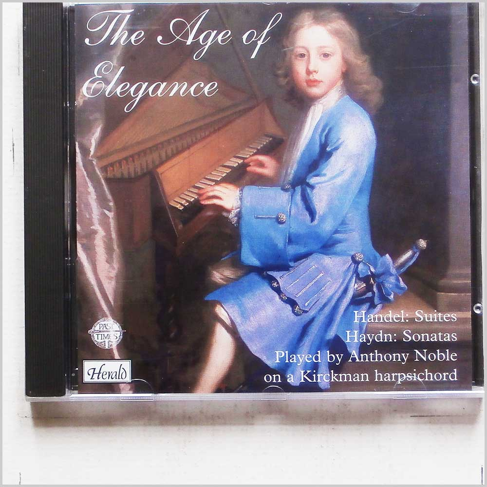 Anthony Noble - The Age of Elegance: Handel, Haydn (794638018123)