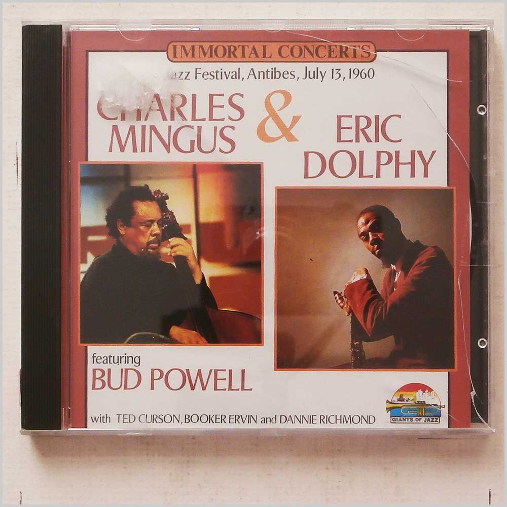 Charles Mingus, Eric Dolphy, Bud Powell - Immortal Concerts: Jazz Festival, Antibes, July 13, 1960 (8004883530137)