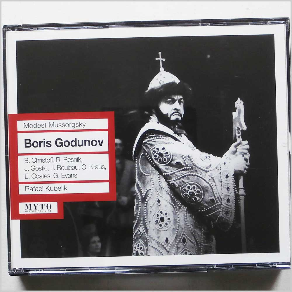 Rafael Kubelik, Orchestra and Chorus of the Royal Opera House - Modst Mussorgsky: Boris Godunov (801439903128)