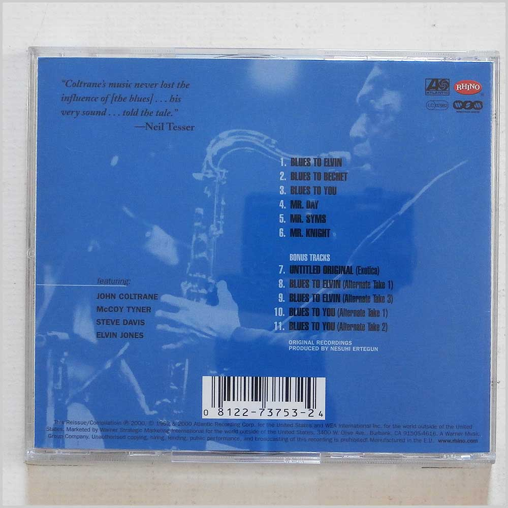 John Coltrane - Coltrane Plays the Blues (81227375324)