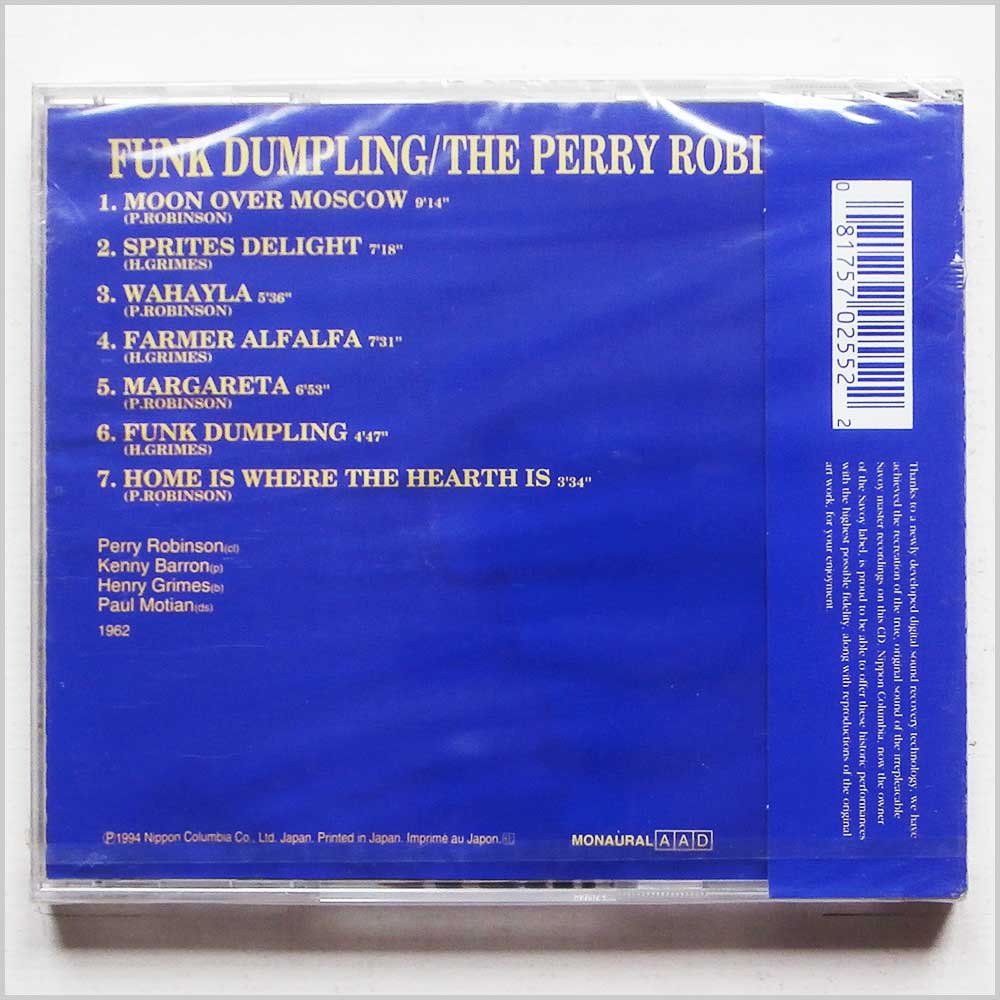 The Perry Robinson 4 - Funk Dumpling (81757025522)