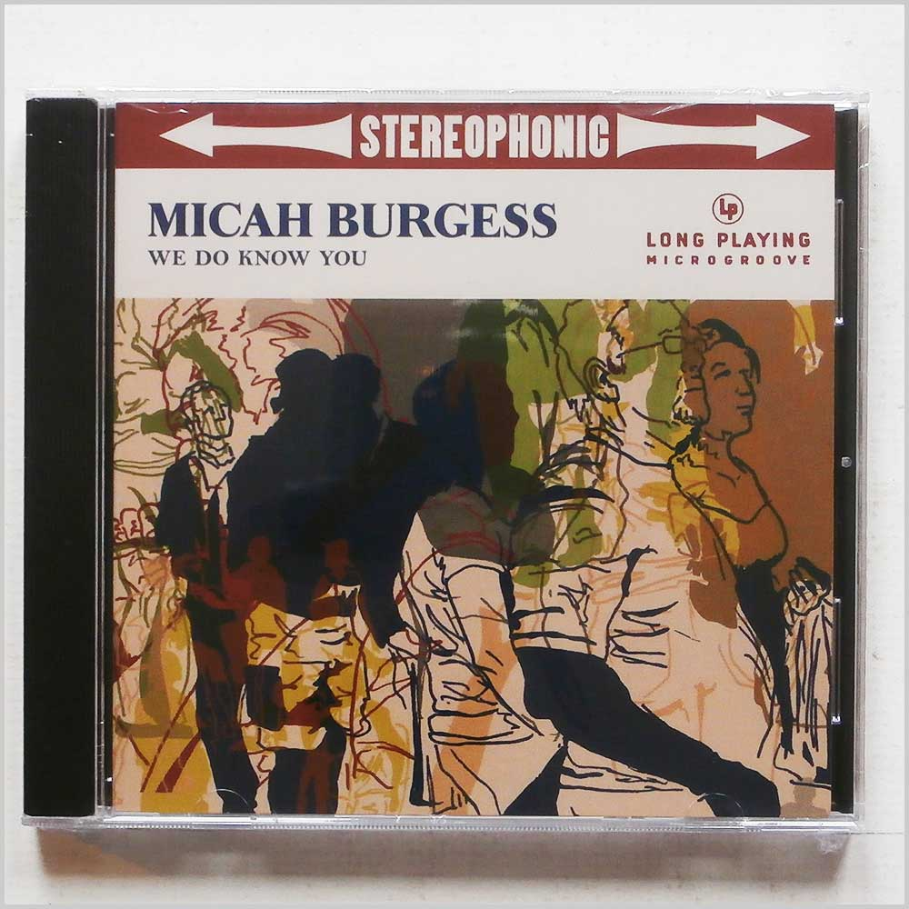Micah Burgess - We Do Know You (824594018520)