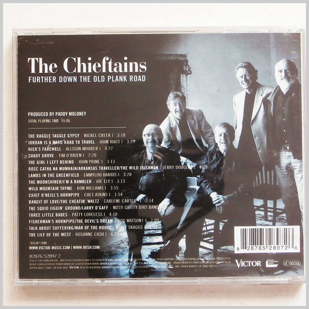 The Chieftains - Further Down The Old Plank Road (828765289726)