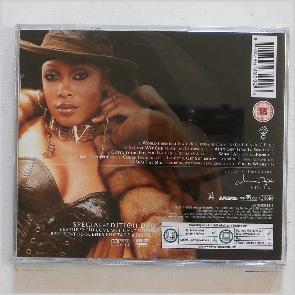 Da Brat - Limelite, Luv and Niteclubz [CD + DVD] (828765339926)