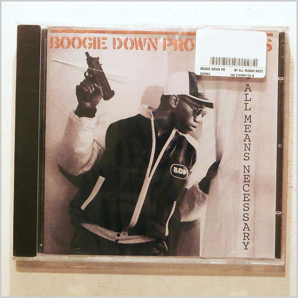 Boogie Down Productions - By All Means Necessary (828765511322)