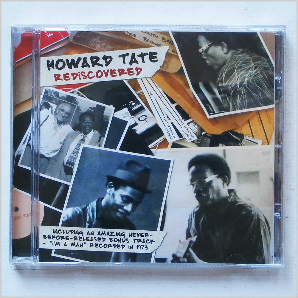 Howard Tate - Rediscovered (828766029727)
