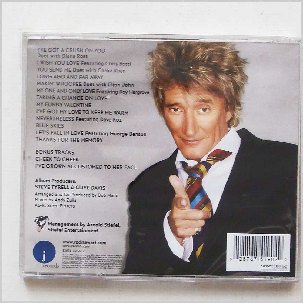 Rod Stewart - Thanks For The Memory: The Great American Songbook, Volume IV (828767519029)