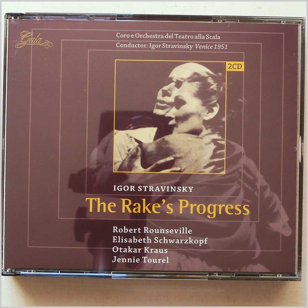 Coro e Orchestra del Teatro alla Scala, Igor Stravinsky - The Rake's Progress (8712177038022)