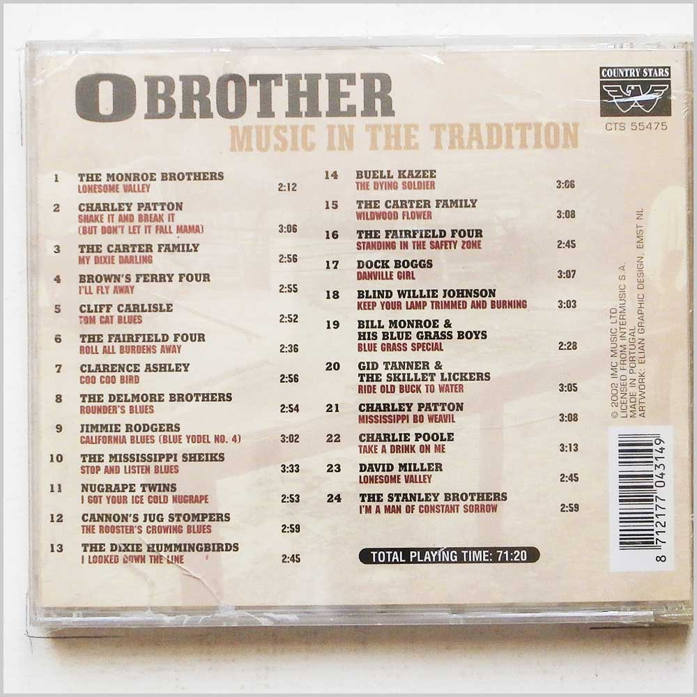 Various - O Brother: Music in the Tradition (8712177043149)