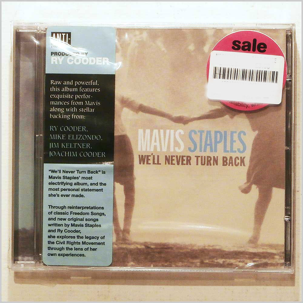 Mavis Staples - We'll Never Turn Back (8714082883011)