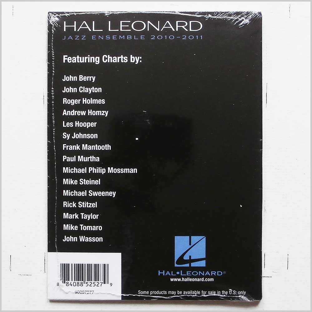 Hal Leonard Jazz Ensemble - Hal Leonard Jazz Ensemble 2010-2011 (884088525279)
