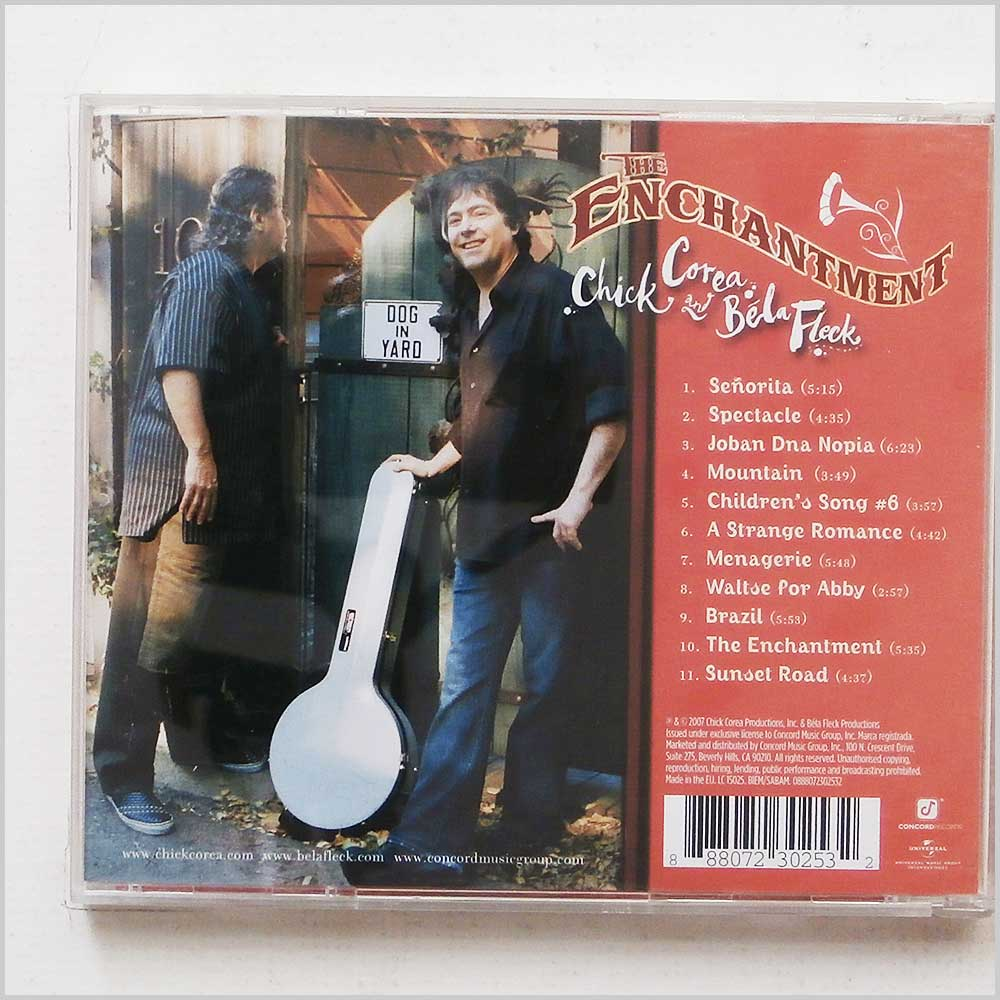 Chick Corea and Bela Fleck - The Enchantment (888072302532)