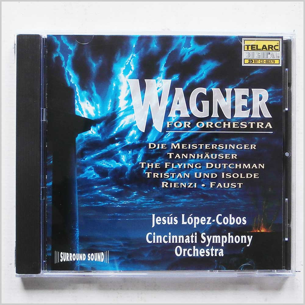 Jesus Lopez-Cobos, Cincinnati Symphony Orchestra - Wagner for Orchestra (89408037924)