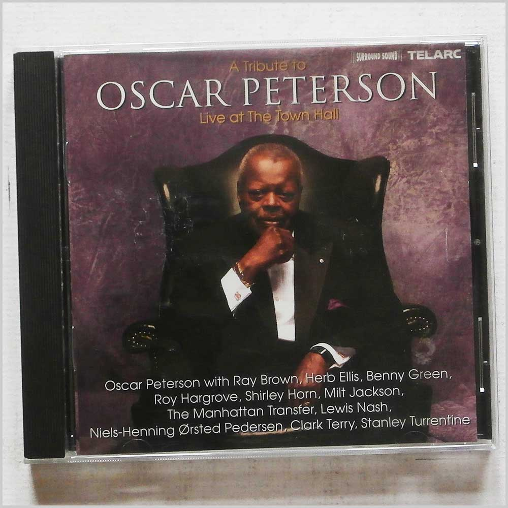 Oscar Peterson - A Tribute To Oscar Peterson: Live at The Town Hall (89408340123)