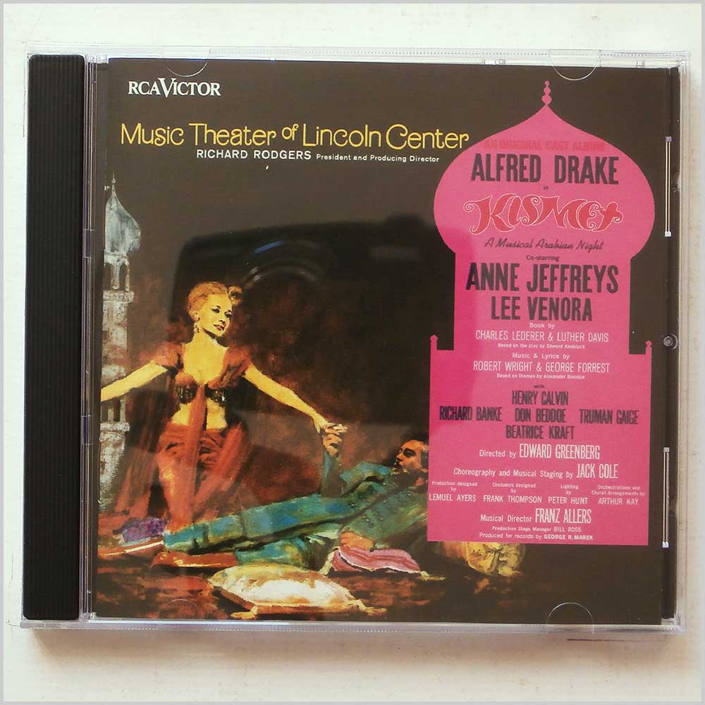 Anne Jeffreys, Lee Venora - Music Theater of Lincoln Center: Kismet (90266804023)