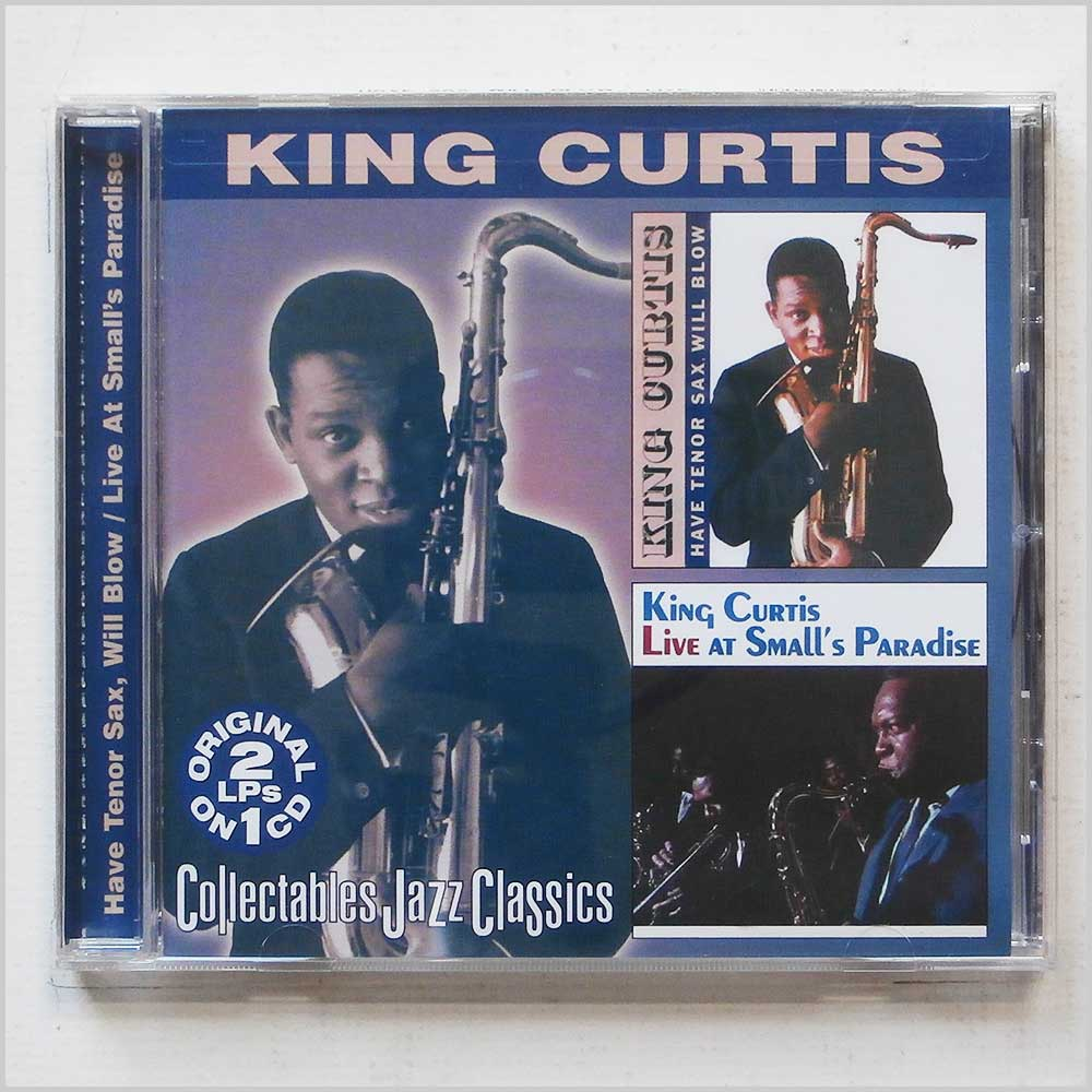 King Curtis - Have Tenor Sax, Will Blow and Live at Small's Paradise (90431641828)