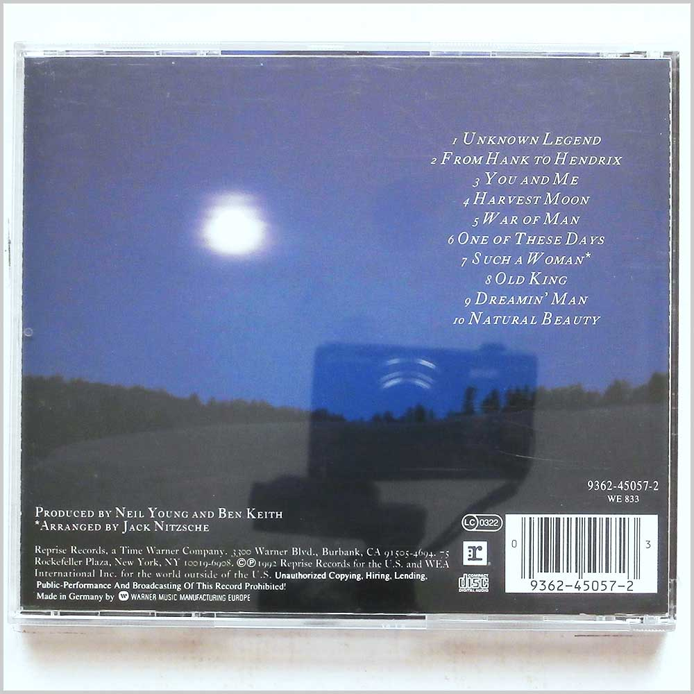 Neil Young - Harvest Moon (93624505723)