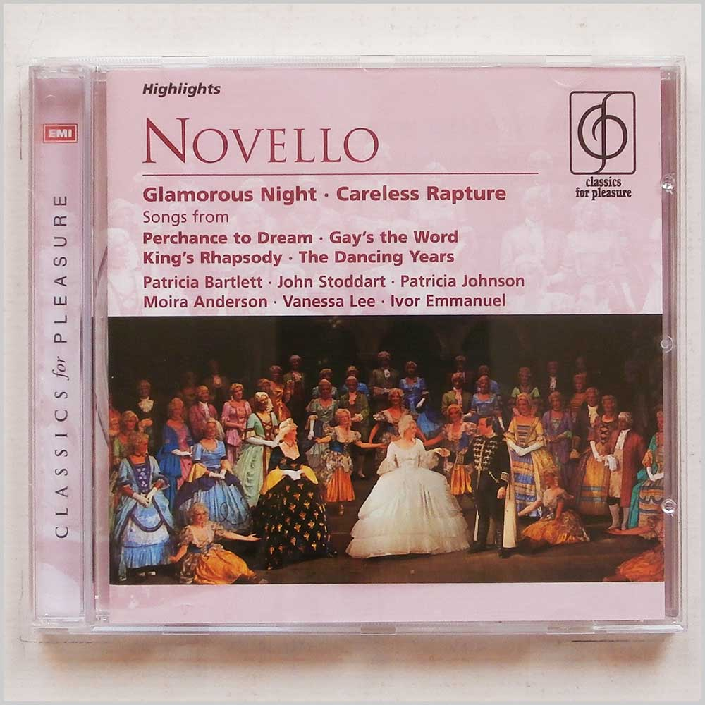 Linden Singers and New World Show Orchestra - Ivor Novello: Glamorous Night, Careless Rapture (94633598621)
