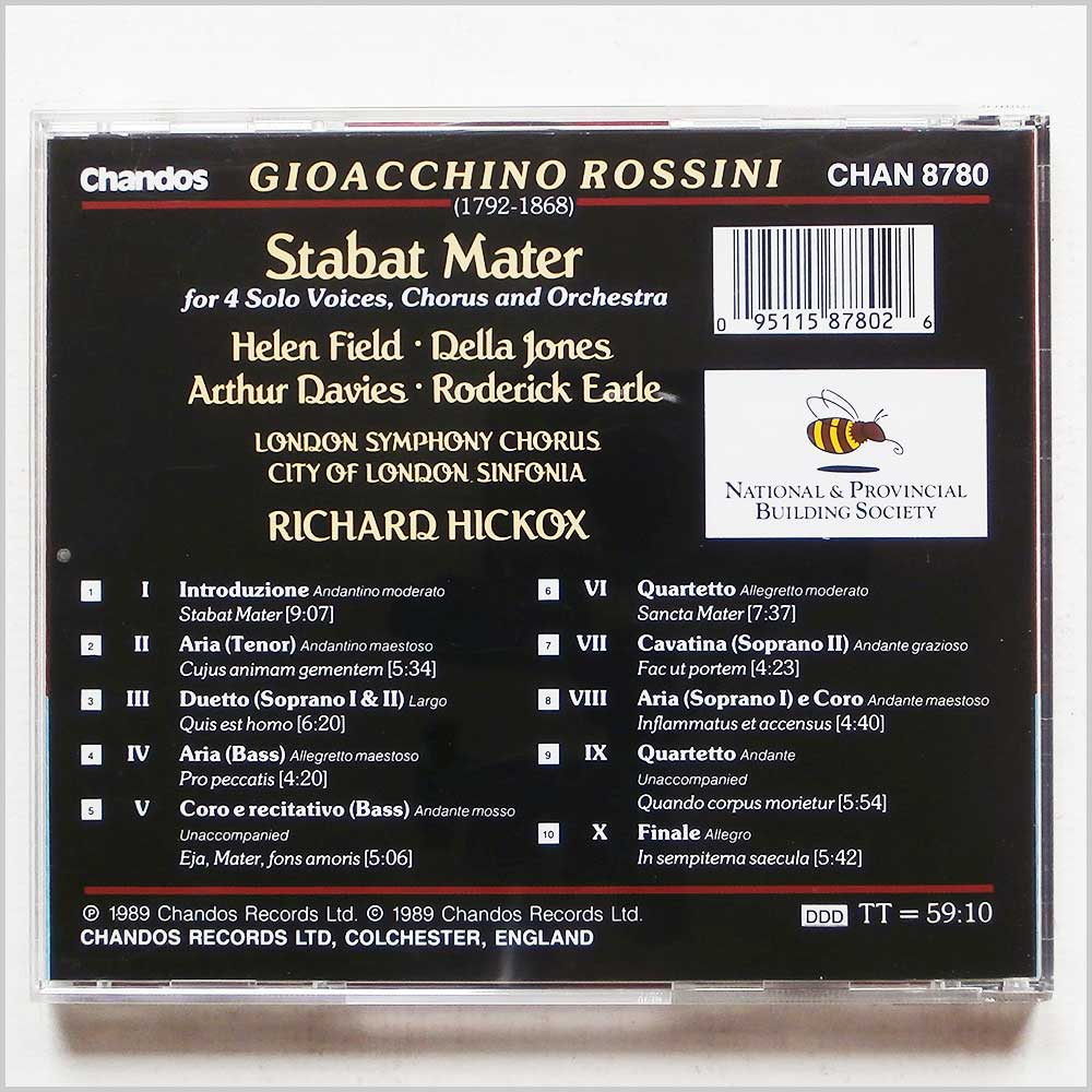Richard Hickox, London Symphony Chorus - Rossini: Stabat Mater (95115878026)