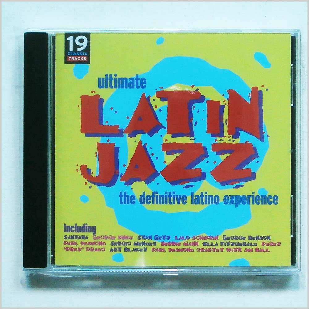 Various - Ultimate Latin Jazz The Definitive Latino Experience (95483794522)