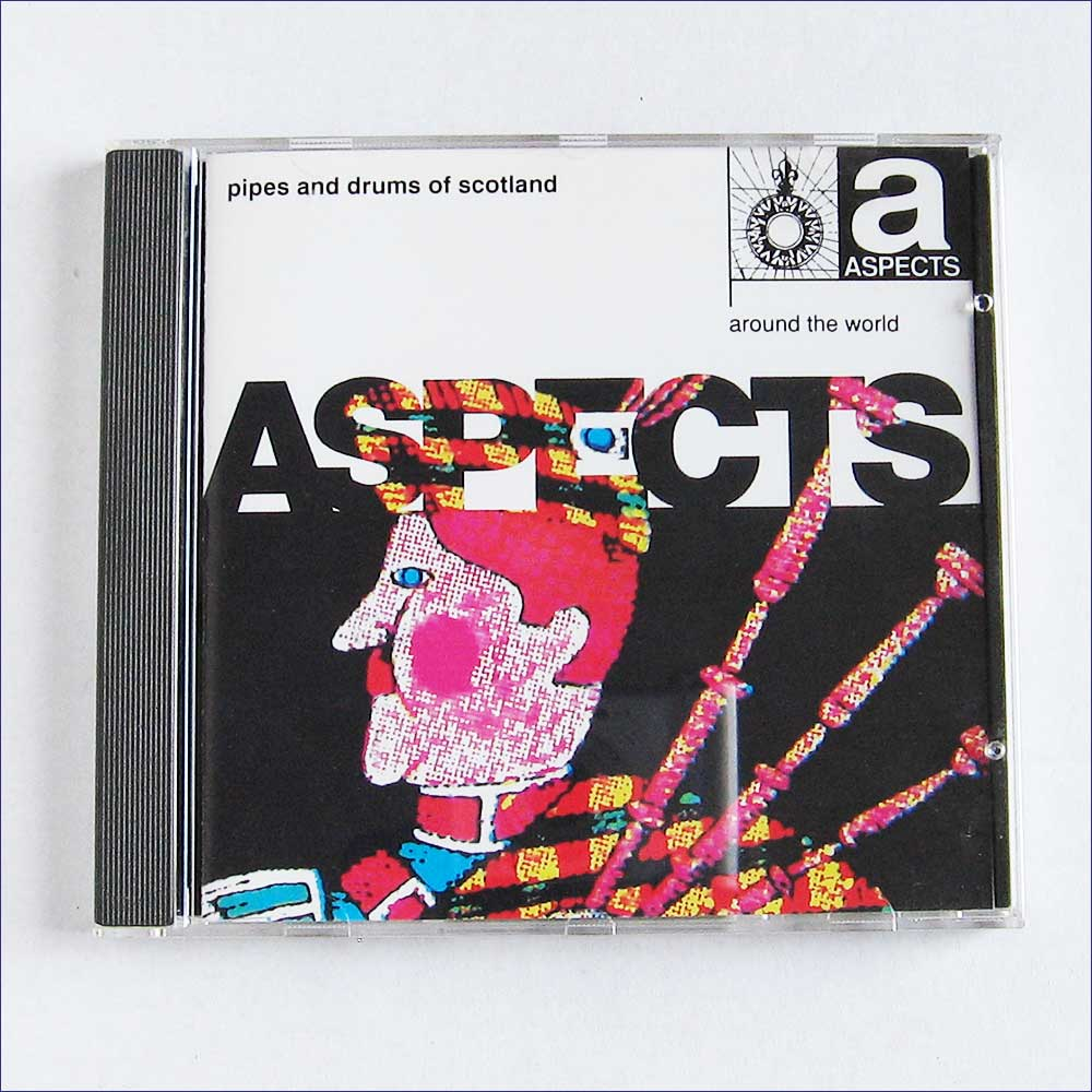 Various - Pipes And Drums Of Scotland, Around The World (ASP5085)