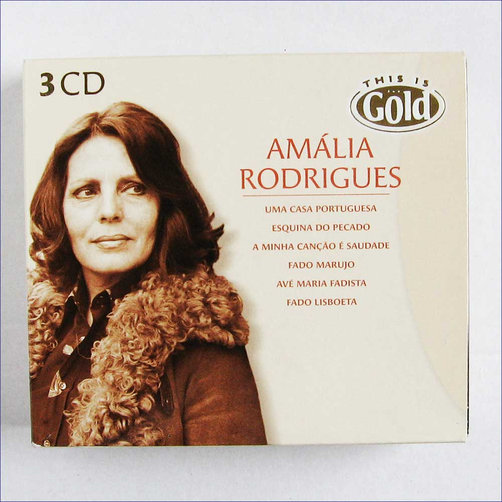 Amalia Rodrigues - Amalia Rodrigues, This Is Gold (BX902352)