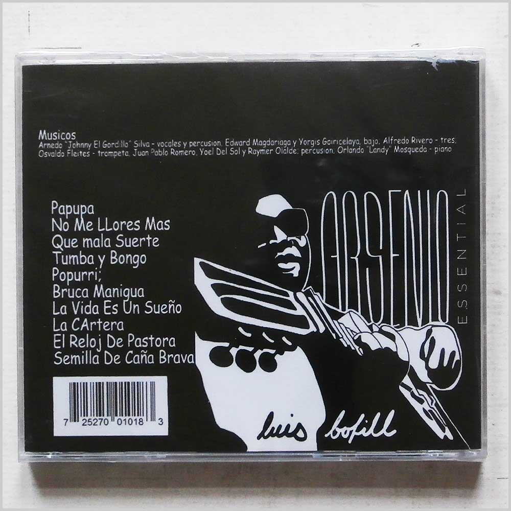 Luis Bofill - Arsenio Essential (CD-2017)