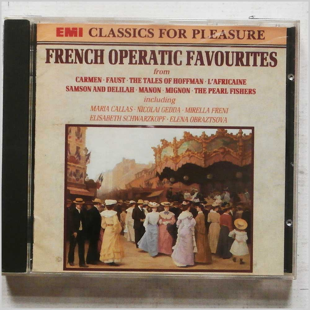 Various - French Operatic Favourites (CD-CFP 4562)
