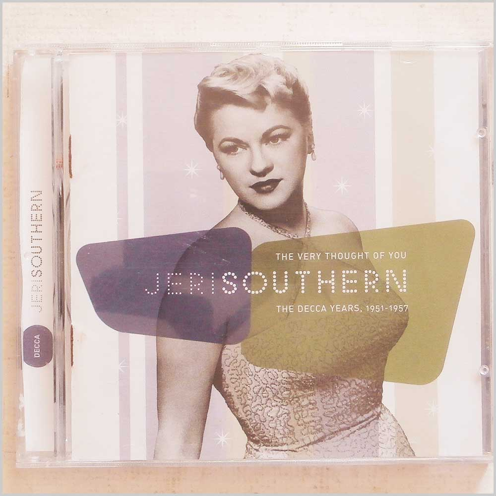 Jeri Southern - The Very Thought Of You: The Decca Years 1951-1957 (GRD-671)